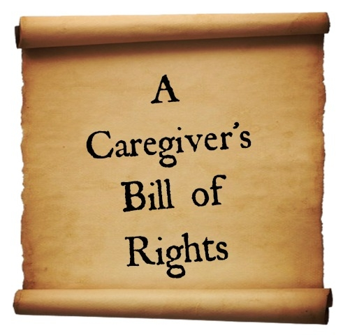 A Caregiver's Bill of Rights