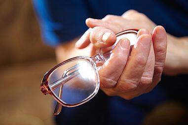 handwithglasses