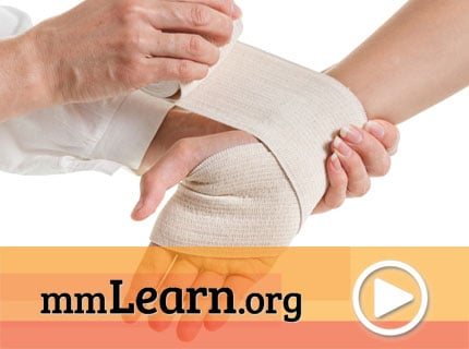 How to Apply a Leg or Compression Wrap